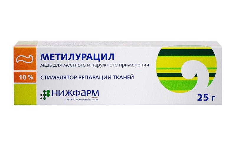 Метилурацил от геморроя