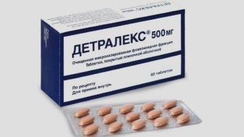 Как принимать таблетки Детралекс при геморрое