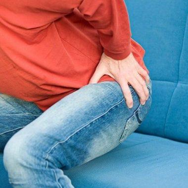 Начальные симптомы тромбоза геморроидального узла