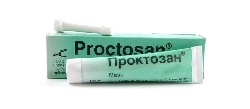 Мазь Проктозан
