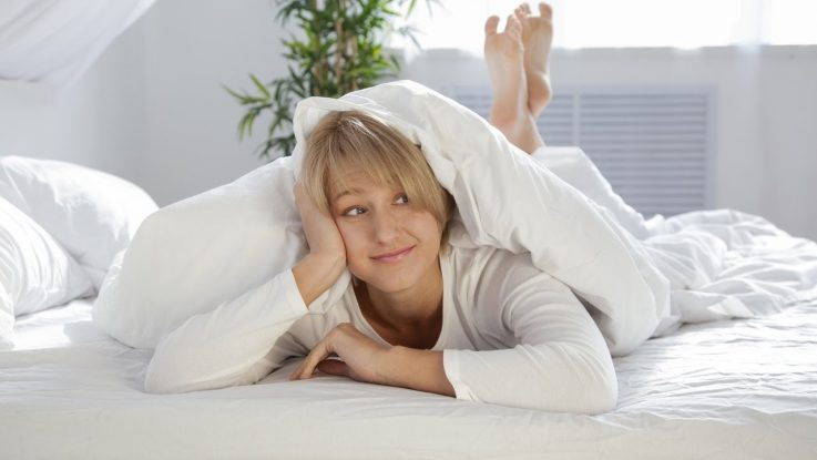 Как спать при геморрое