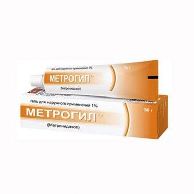 Применение Метрогила